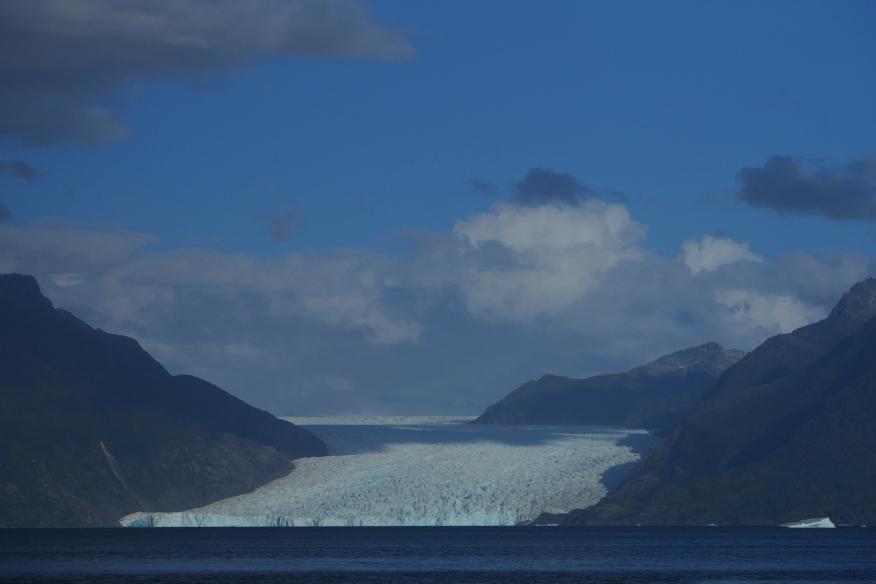 Glaciar San Rafael, from my final camp.